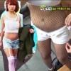 """Cô gái Hàn nổi tiếng vì mặc quần """"5cm"""""""