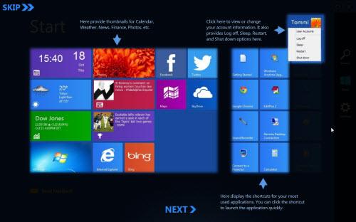 Để Windows XP, Vista, 7 cũng có Modern UI - 2