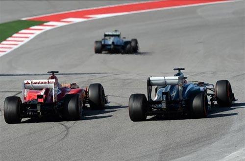 F1 - United States GP: Phía sau vạch đích - 3