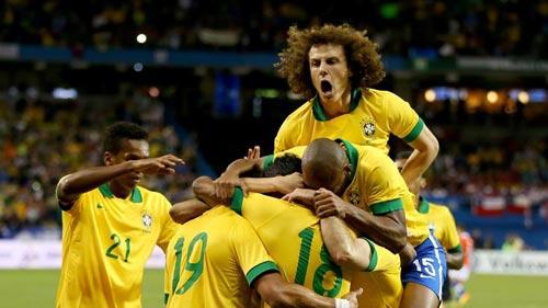 Brazil – Chile: Dấu ấn của Robinho - 1