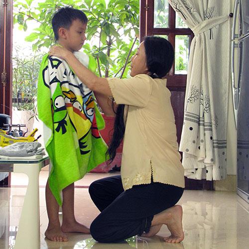 NSƯT Kim Xuân xúc động vào vai ô sin - 3