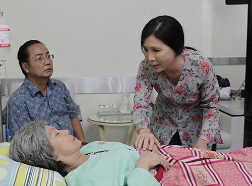 NSƯT Kim Xuân xúc động vào vai ô sin - 11