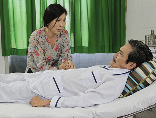 NSƯT Kim Xuân xúc động vào vai ô sin - 12