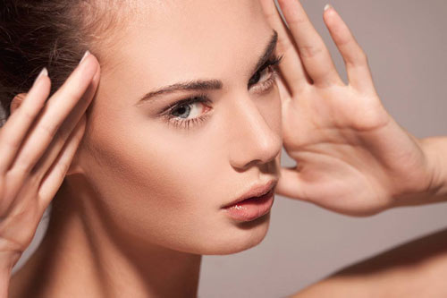 Make-up cho khuôn mặt trong veo - 1