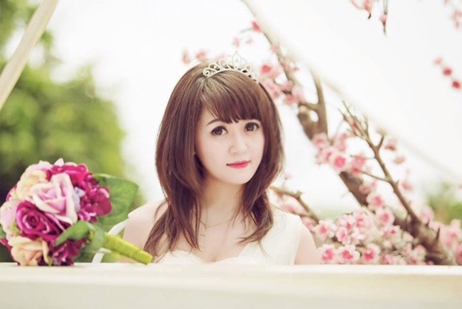 Ly Ly từng được biết đến là hot girl của trường Đại học Sư phạm Hà Nội.