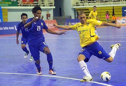 Futsal VN gây ấn tượng trước ĐKVĐ Châu Á - 2