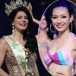 Việt Nam lại tay trắng khi thi sắc đẹp
