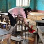 Giáo dục - du học - Ngày lễ không hoa của giáo viên nơi rốn lũ