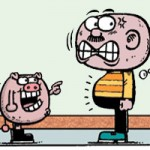 Cười 24H - Truyện tranh: To bụng là tướng... vỡ đầu