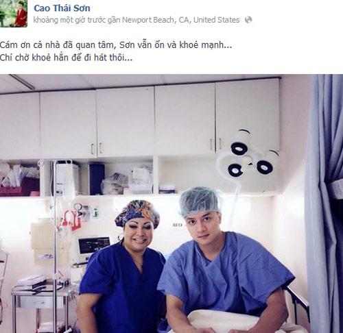 Cao Thái Sơn bác tin đồn phẫu thuật chuyển giới - 4