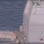 Tin tức trong ngày - Máy bay UAV đâm thủng tàu tuần dương Mỹ