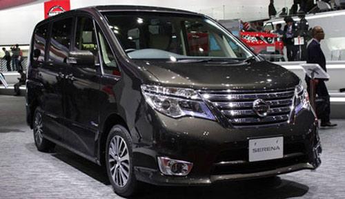 Nissan Serena 2014 - Đối thủ 8 chỗ ngồi của Toyota Innova - 1