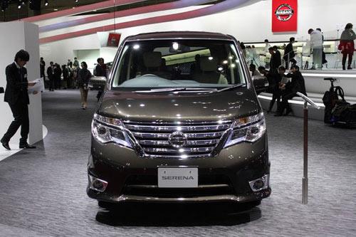 Nissan Serena 2014 - Đối thủ 8 chỗ ngồi của Toyota Innova - 2