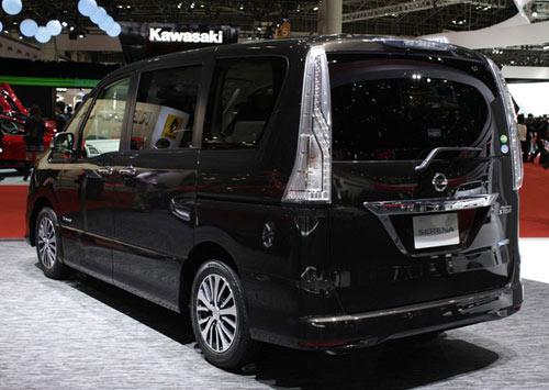 Nissan Serena 2014 - Đối thủ 8 chỗ ngồi của Toyota Innova - 4