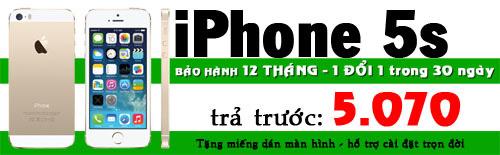 Mua trả góp iPhone 5, 5S chỉ với 3.590.000 đồng - 6