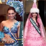 Thời trang - Tròn mắt xem trang phục dân tộc ở Miss Earth