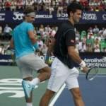 Thể thao - Djokovic pha trò nhái điệu bộ Nadal