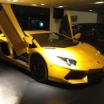 Ô tô - Xe máy - Lamborghini Aventador màu vàng thoắt ẩn, thoắt hiện tại VN