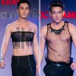 Thời trang - Mẫu nam mặc áo nịt ngực, quần xuyên thấu!