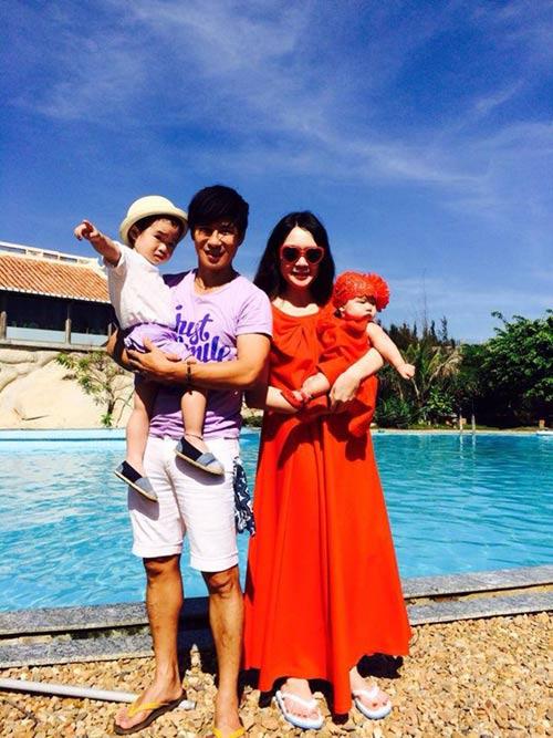 Gia đình Lý Hải sành điệu trên biển - 4