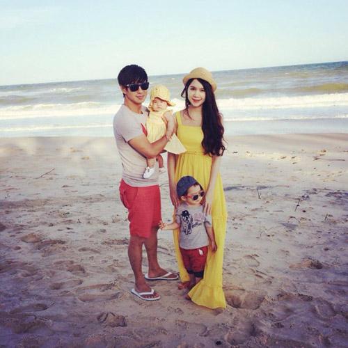 Gia đình Lý Hải sành điệu trên biển - 5
