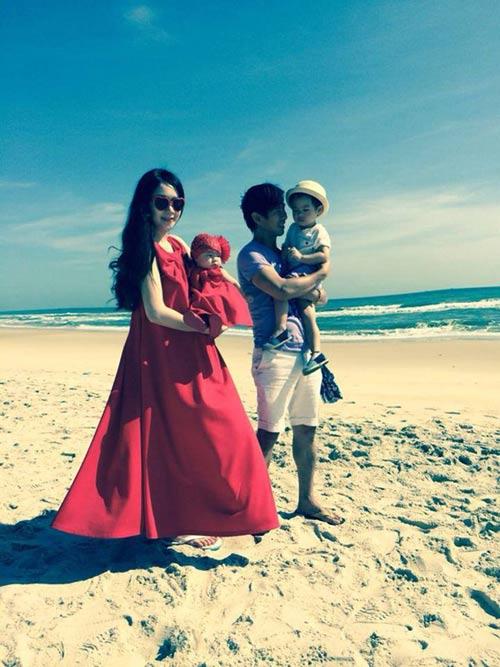 Gia đình Lý Hải sành điệu trên biển - 2