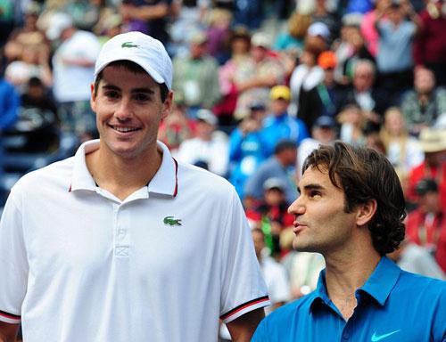John Isner: Thắng Federer là tuyệt nhất! - 2