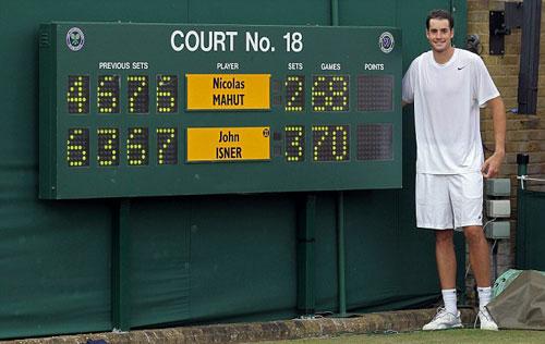 John Isner: Thắng Federer là tuyệt nhất! - 3