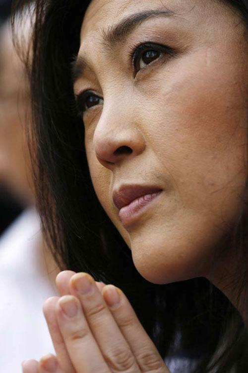 Nữ Thủ tướng Thái cầu xin chấm dứt biểu tình - 1