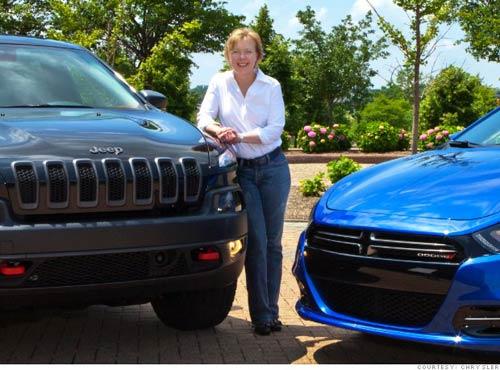 10 bóng hồng quyền lực nhất ngành công nghiệp xe hơi - 7