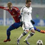 Bóng đá - CSKA - Bayern: Vượt qua gió tuyết