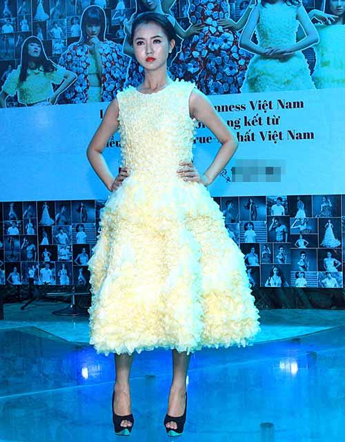 Váy 4.000 bao cao su lập kỷ lục Việt Nam - 8
