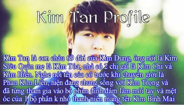 Ảnh chế hài hước về Kim Tan - 4