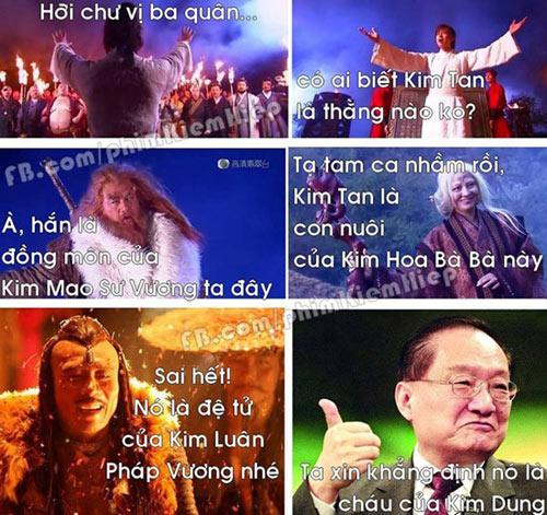 Ảnh chế hài hước về Kim Tan - 5