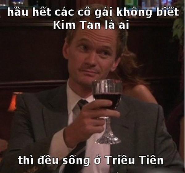 Ảnh chế hài hước về Kim Tan - 3