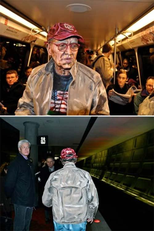 """12 """"dị nhân"""" trên tàu điện ngầm - 4"""