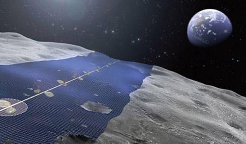 Nhật sẽ xây vành đai pin mặt trời trên Mặt trăng - 1