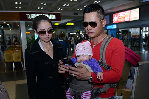 5 nhà sao Việt sinh công chúa 2013 - 14