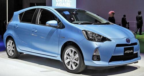 Ra mắt Toyota Aqua 2014 siêu tiết kiệm nhiên liệu - 1
