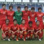Bóng đá - ĐT nữ VN cùng bảng với Úc, Nhật, Jordan