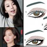 Làm đẹp - Bật mí bí mật trang điểm mắt của sao Hàn