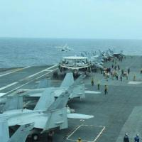 Ảnh: Mỹ-Nhật rầm rộ diễn tập trên biển Hoa Đông
