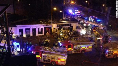 Scotland: Trực thăng cảnh sát lao vào hộp đêm - 1