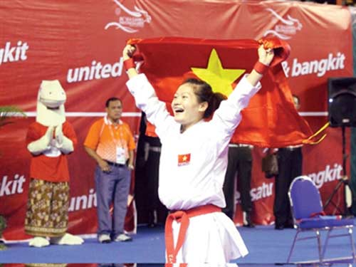 SEA Games 27: Karate vẫn là mũi nhọn - 1