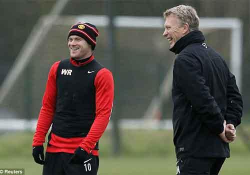 David Moyes không để Rooney nghỉ ngơi - 1