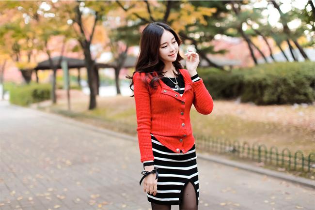 Cho Min Yeong lãng mạn trên con phố mùa đông Hàn Quốc