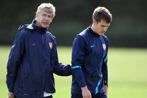 Wenger ca ngợi Ramsey là tiền vệ hoàn hảo - 1