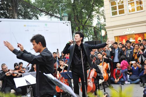 Hòa nhạc đường phố thu hút nghệ sĩ Việt - 7
