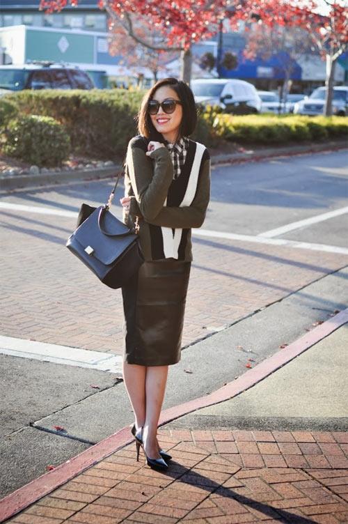 Một phụ nữ sành điệu sẽ mặc gì khi tới sở? - 3