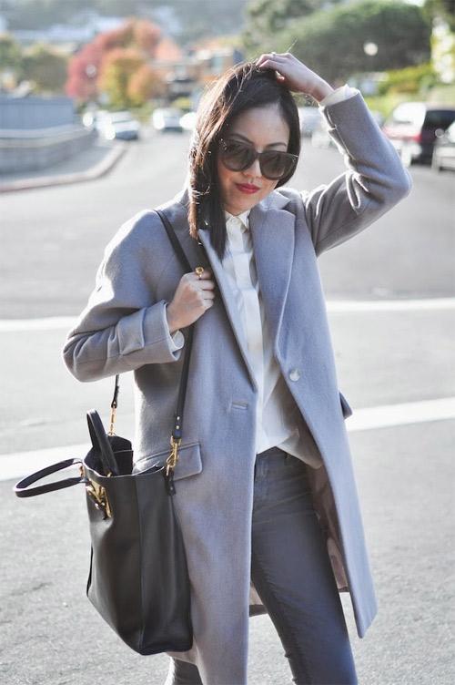 Một phụ nữ sành điệu sẽ mặc gì khi tới sở? - 4